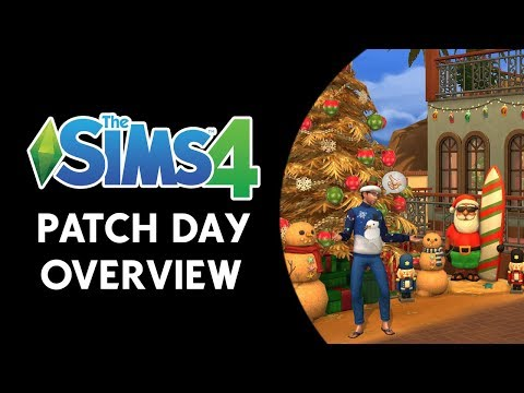 The Sims 4: Patch Day Overview (NEW TATTOOS, CAS ITEMS, & HOLIDAY DECOR)