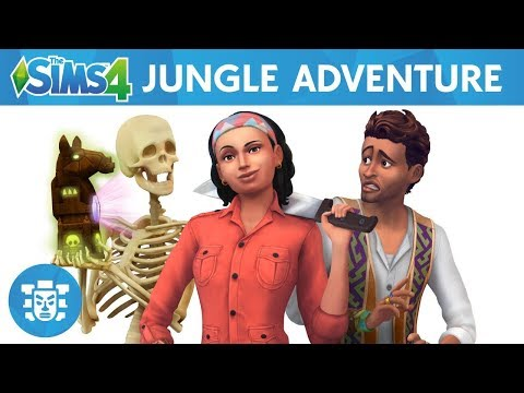 The Sims 4 Jungle Adventure: Explore Selvadorada Official Gameplay Trailer Review