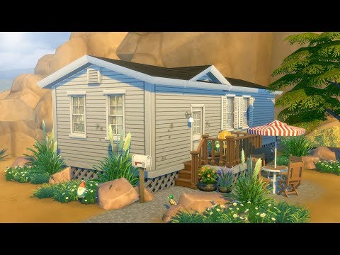 TRASHY TRAILER // The Sims 4: Speed Build
