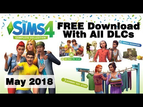 Sims 4 Free Download for PC with ALL DLCs (Sims 4 Complete Collection W/ All Addons Free Download)