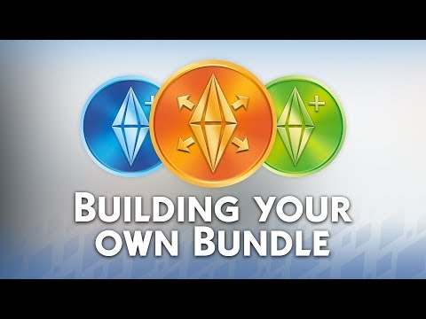 The Sims 4: Building your own Bundle on Origin