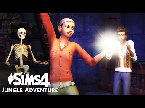 The Sims 4: Jungle Adventure - Todo Cambio (Music Video)