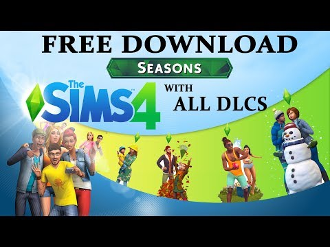 Sims 4 Free Download with Seasons + ALL Addon DLCs for PC (Sims 4 Complete Collection Free Download)