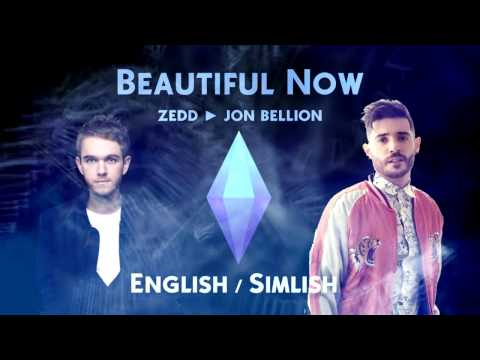 Sims 4: ZEDD - Beautiful Now (English/Simlish)