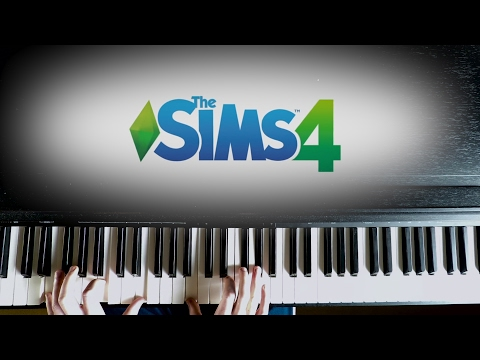 The Sims 4 Main Theme ''It's The Sims'' (Piano Version) - Ilan Eshkeri | The Sims 4 Soundtrack