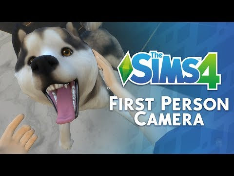 The Sims 4: First Person Camera Overview (November 2018 Update Feature)