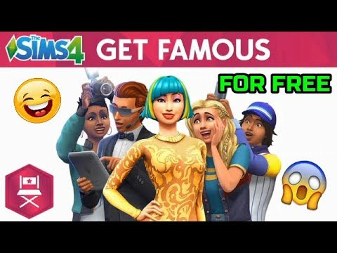 HOW TO DOWNLOAD THE SIMS 4 GET FAMOUS FOR FREE ON PC | 2018 | KarmaTastic