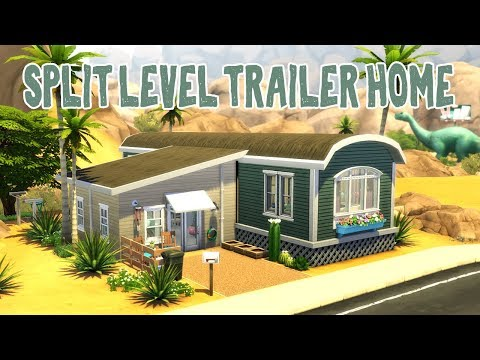 Split Level Trailer Home || The Sims 4: Speed Build