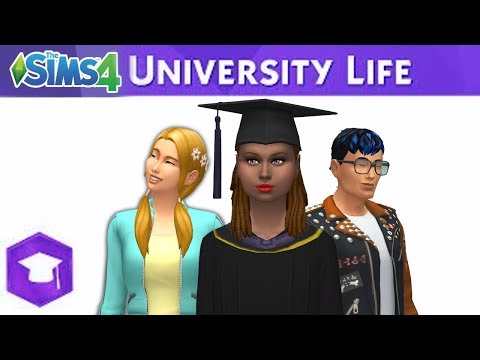 The Sims 4 University Life: Official Reveal Trailer - Fanmade