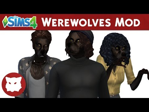 The Sims 4 Werewolf Mod Trailer • Sims 4 Stuff | Hacks, Cheats
