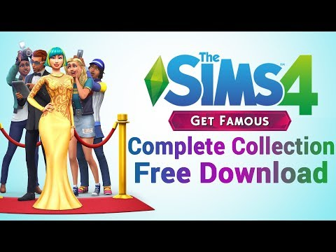Sims 4 Free Download with Get Famous + ALL Packs for PC (Sims 4 Complete Collection Free Download)