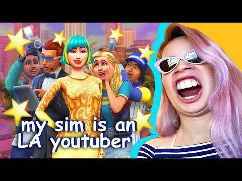 SIMS 4 GET FAMOUS REACTION *no peasants allowed*