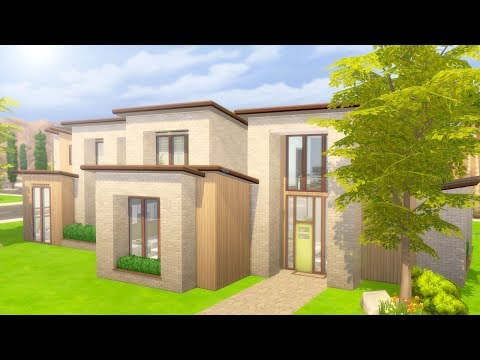 BASE GAME MODERN MANSION // The Sims 4: Speed Build