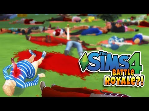 The Sims 4 Battle Royale