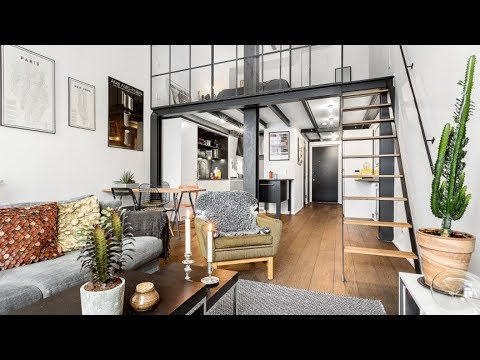 The Sims 4 | Industrial Loft Studio Apartment  | Speed Build + Download links