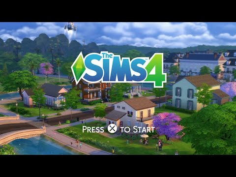 1st Play!! - The Sims 4 PS4 (Gameplay)