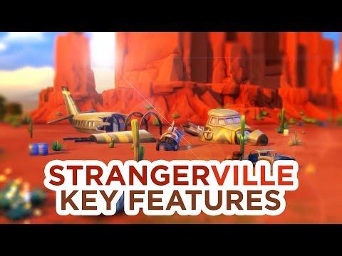 STRANGERVILLE: KEY FEATURES + DESCRIPTION // The Sims 4: News & Info