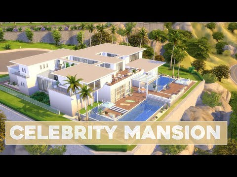 Sims 4 | House Building | Celebrity Mansion