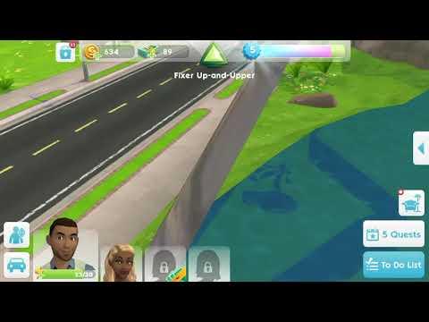 Sims MOBILE GLICH
