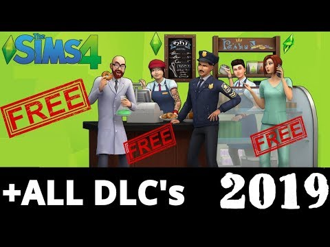 How to Download The Sims 4 For FREE on PC + ALL DLC's 2019