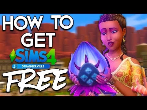 How To Get The Sims 4 With Strangerville DLC For FREE! SIMPLE & EASY! 2019!