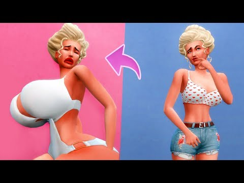 SIMS 4 ADDICTED TO PLASTIC SURGERY | STORY