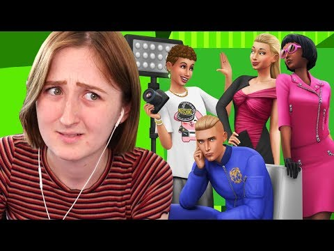 NEW SIMS PACK! REACTING TO THE SIMS 4: MOSCHINO STUFF TRAILER