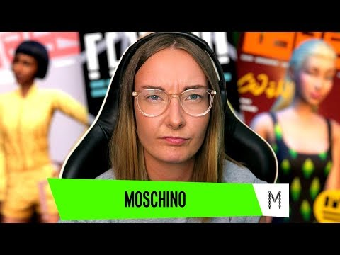 The Sims 4 Moschino Stuff Trailer Reaction!