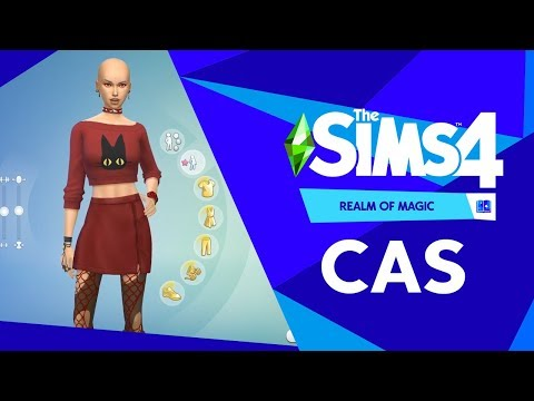 The Sims 4 Realm of Magic: Create A Sim Overview