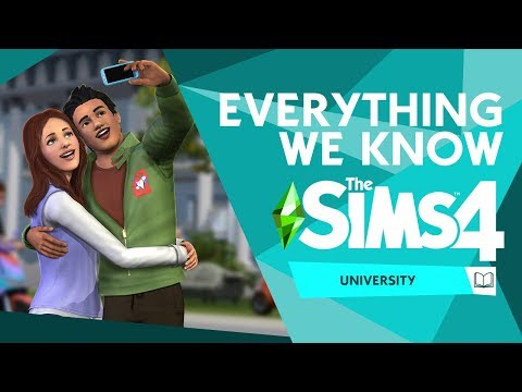 EVERYTHING we know about The Sims 4 University! (so far)