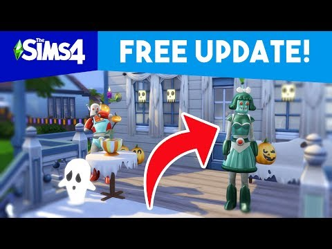 FREE HALLOWEEN UPDATE TOMORROW!