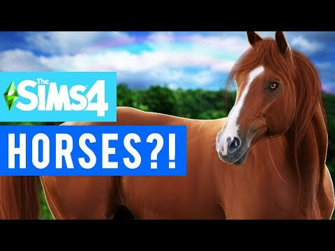 HORSES COMING TO SIMS 4?! [The Sims 4 Info/News]