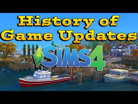 Sims 4 Patches - Full History of Game Updates, News and Improvememts
