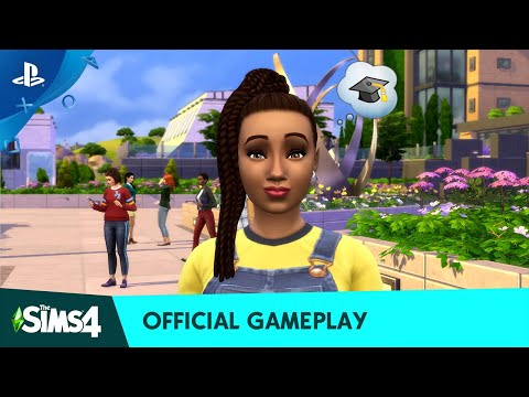 The Sims 4 Discover University - Official Gameplay Trailer | PS4