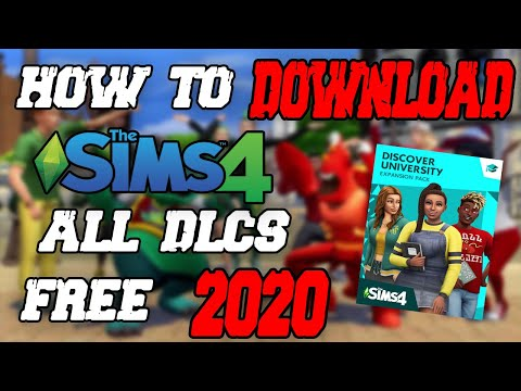 Download The Sims 4 for FREE on PC + All DLCs (Discover University Included) 2020 WORKING!