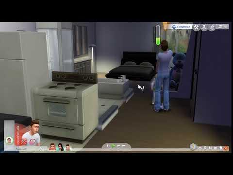A glich happened in sims 4