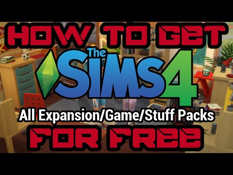How To Download Sims 4 For Free | All DLC's | v1.58.63.1010 | 2019 | PC & MAC