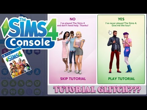 GLITCH WARNING // Sims 4 PS4 Tutorial // Console