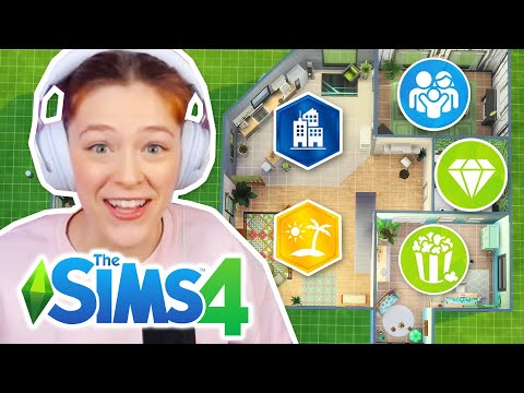 Trying The Sims 4 But Every Room Is A Different Pack Challenge | Part 2