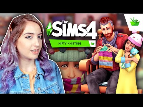 The Sims 4: Nifty Knitting trailer was disappointing sorry x