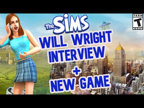 WILL WRIGHT SIMS INTERVIEW & NEW GAME- 2020 NEWS AND INFO