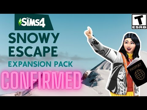 SNOW EXPANSION CONFIRMED- SIMS 4 NEWS 2020/ SNOW ESCAPE TRAILER ANNOUNCED