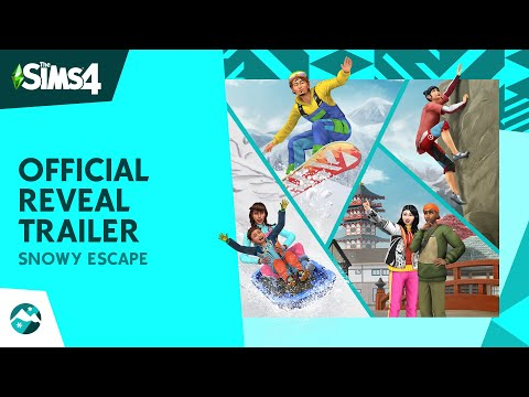 The Sims 4 Snowy Escape: Official Reveal Trailer
