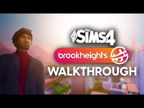 The Sims 4 Brookheights Open World Mod - Walkthrough