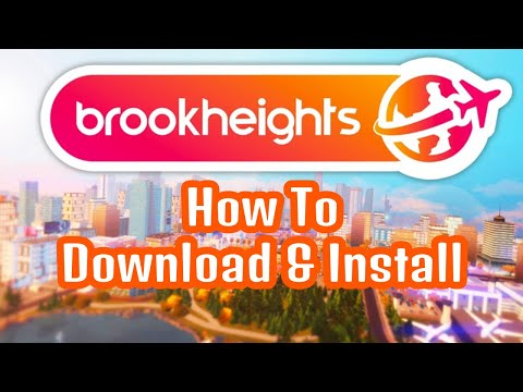 How To Download & Install Brookheights FULL Walkthrough || The Sims 4 Open World Mod