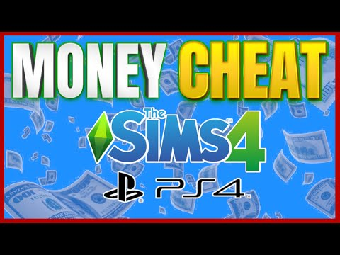MONEY CHEAT FOR THE SIMS 4 ON PS4