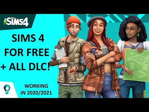 Get The Sims 4 For Free on PC *ALL DLC'S INCLUDED* (2021 Simple & Easy) *NO ORIGIN*