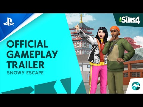 The Sims 4 | Snowy Escape - Official Gameplay Trailer | PS4