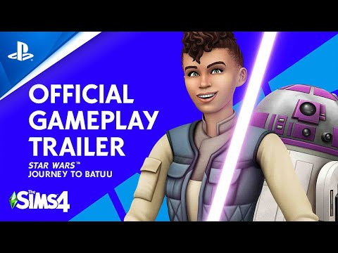 The Sims 4 Star Wars: Journey to Batuu - Official Gameplay Trailer | PS4
