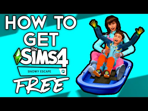 How To Get The Sims 4 w/ Snowy Escape For FREE 2020 With ALL DLC! THE SIMS 4 ALL DLC FREE DOWNLOAD